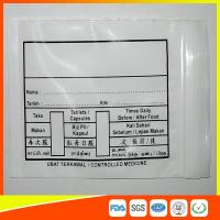 Best Custom Printed Plastic Medical Ziplock Bags Reclosable Waterproof Non Poisonous wholesale