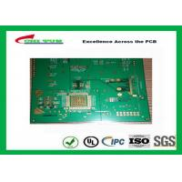Best 1.2mm Hole Size 0.2mm Quick Turn PCB Prototypes Assembly 6 Layer Hard Gold PCB wholesale