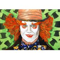 Best clown oil painting on canvas for wall decoration wholesale