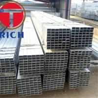 Best Hot Rolled Q235B ERW Carbon Steel Welded Pipe 200-220g/Sm Zinc Coating wholesale