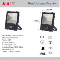 Best Aluminum waterproof IP66 white/black COB 50W LED Flood lights for hotel wall decoration wholesale