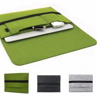 Best Felt Briefcase Covers / Padded Laptop Bag For 11.6 12 13.3 15.4 Inch Macbook air wholesale