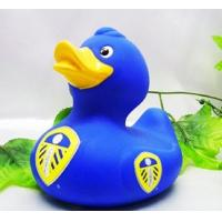 Best Football Club Team World Cup Rubber Duck Toy Eco Friendly Vinyl For Baby Shower wholesale