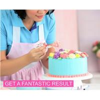 Best FBT010603 cake decoration kit include turntable stand,piping tips,icing bags,spatula etc. wholesale