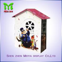 Best Custom Cartoon Design Kids Toy Cardboard Play House Corrugated Paper Furniture wholesale
