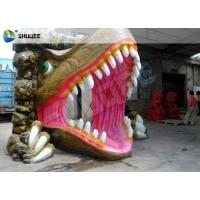 Best Dinosaur House 5D Movie Theater With Outside Cabin Box , Luxury Electric 9 Seats System wholesale