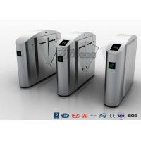 Cheap Flap Barrier Gate Flap Wing Automatic Systems Turnstiles Polishing With Anti - for sale