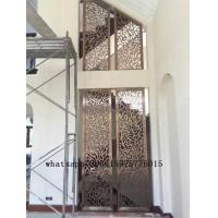 Best Colored stainless steel art screen room divider partition for decorative wholesale