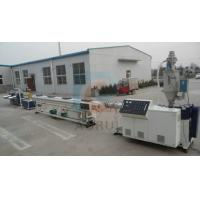 PERT Floor Heating Plastic Pipe Extrusion Line , PPR Cold and Hot Pipe Machinery