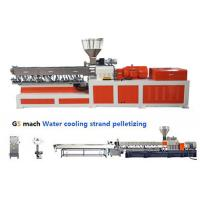 Buy cheap Electrical Control  PP ABS Double Screw Extruder Water Strand Pelletizing Line from wholesalers
