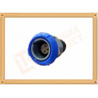 Best Round Push Pull Female 4 Pin Circular Connector For Blood Pressure Monitors Endoscopes wholesale