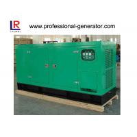 Quality 400V 50kw Silent Diesel Generator Cummins Engine AC Three Phase Color Optional wholesale