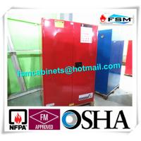 Best 90 GAL Safety Fireproof Paint Storage Cabinets Dual Vents For Industrial / Chemical wholesale