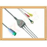 Best Fukuda Denshi ECG Patient Cable 3 Leads Snap IEC Insulated wholesale
