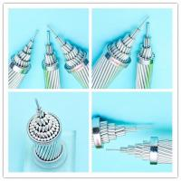 Cheap No Insulated Aluminum Wire Multi Strand Cable Wire 0.6 / 1KV Low Voltage Poppy for sale