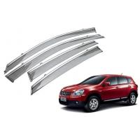 Best Rain Shield For Nissan Qashqai 2008 - 2014 With Stainless Steel Stripe wholesale