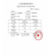 Qingdao Sesame Chemical Co., LTD Certifications