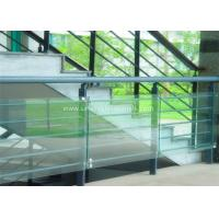 Quality Decorative Glass Railing Laminated Safety Glass Grey CE / CSI Approve wholesale