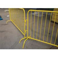 Best Removable Pedestrian Control Barriers For Event Road Safety SGS ISO Listed wholesale