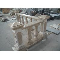 Best Yellow Natural Building Stone Railings G682 Granite Balusters Indoor Decoration wholesale