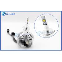 Best H3 Philips LED Headlight Bulbs BMW Audi 6000K Cool White 3000LM 25W wholesale