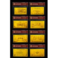 Best Full COMMON WEALTH OF Old Australia Banknote Set 24k Gold Banknote with Double logo wholesale