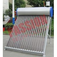 Best 250L Pre Heated Solar Water Heater Vacuum Tube With Assistant Tank 6 Years Warranty wholesale