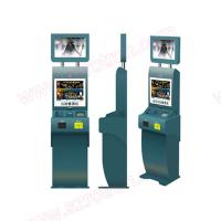Best High quality Multifunctional lobby Self service dual screens touch screen kiosk wholesale