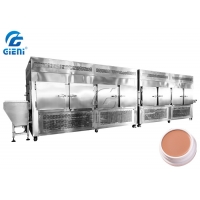 Buy cheap Body Scrub Chilling Tunnel (2 units 3M 7.5p Compressor) Cosmetic Filling Machine from wholesalers