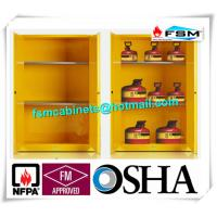 Explosion Proof Chemical Storage Cabinets With Adjustable Shelf For Gas Cylinders