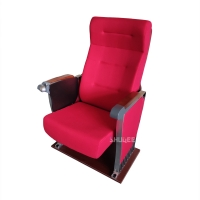 Buy cheap Cinema Seating Furniture Movie Theater Auditorium Chair With Writing Pad from wholesalers