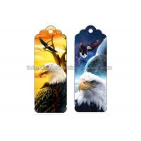 Cheap Professional Full Color Animal 3d Changing Pictures Bookmarks / Reading Bookmarks for sale