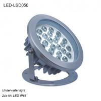 Cheap High efficiency 24W φ215xH221mm exterior IP68 LED Underwater light for sale