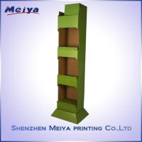 Cheap Customized Corrugated Cardboard Display Stand, Carton Display Stand, Paper for sale