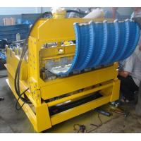 Best 0 - 12m/min High Speed PLC Control Roof Crimping Curved Machine for Roof Curving wholesale