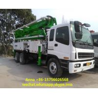 Best Euro 3 Used Concrete Pump Truck , Mobile Pump Truck Easy Operating wholesale