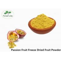 Best Food Grade Freeze Dried Passion Fruit Powder No Additive Yellow Powder wholesale