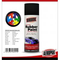 Best Black 400ml Rubber Based Spray Paint High Gloss Fast Drying And Easy To Remove wholesale