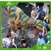 Best KAWAH Customized Lifelike Realistic Walking Adult Raptor Dinosaur Costume wholesale