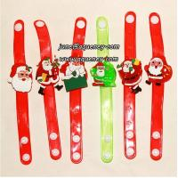 Best Buy 2014 Christmas gift for friends LED silicone wristband with factory price wholesale