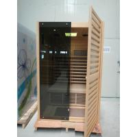 China Two Person Infrared Sauna Cabin, Dry Sauna Bath with Touch Control Panel on sale