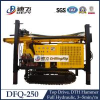 Best 250m Depth DFQ-250 Diesel Engine Crawler DTH Water Well Drilling Machine wholesale