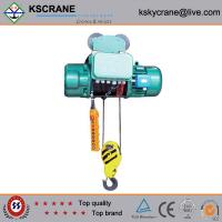 Buy cheap 5T CD/MD Model Electric Wire Rope Hoist With Electric Motor from wholesalers