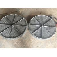 Best Stainless Steel Mesh / Wire Mesh Demister Light Weight Easy Maintenance wholesale