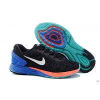 Best Nike LunarEclipse 6-0 Women Black Orange Blue White Shoe wholesale