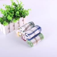 Best Colorful Household Cotton Dish Towels With Yarn Dyed Checked Design 30*30cm wholesale