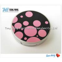 Buy cheap Promotional Pocket Makeup Mirror Cosmetic Compact Mirror With Music from wholesalers