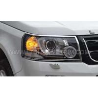Cheap Land Rover Freelander 2 2015 ABS Chrome Headlight Cover Head Lamp Trim for sale