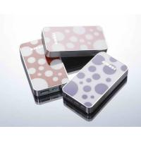 Best Black / White Portable USB Power Bank 5000mah Lithium Ion Battery For Mobile Phone wholesale