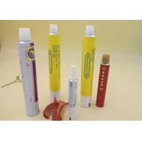 Best Aluminum Printed Tube Packaging For Ointment Cream / Gel Screw Cap wholesale